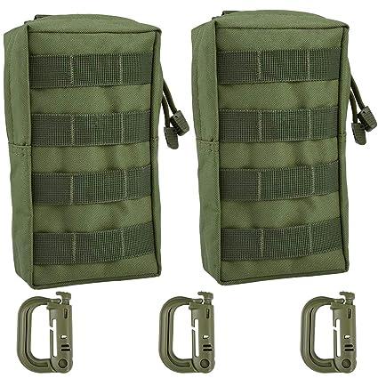 Amazon.com: Irich - 2 correas de hebilla, diseño táctico ...