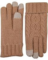 ELMA Women's Touchscreen Wool Knit Gloves