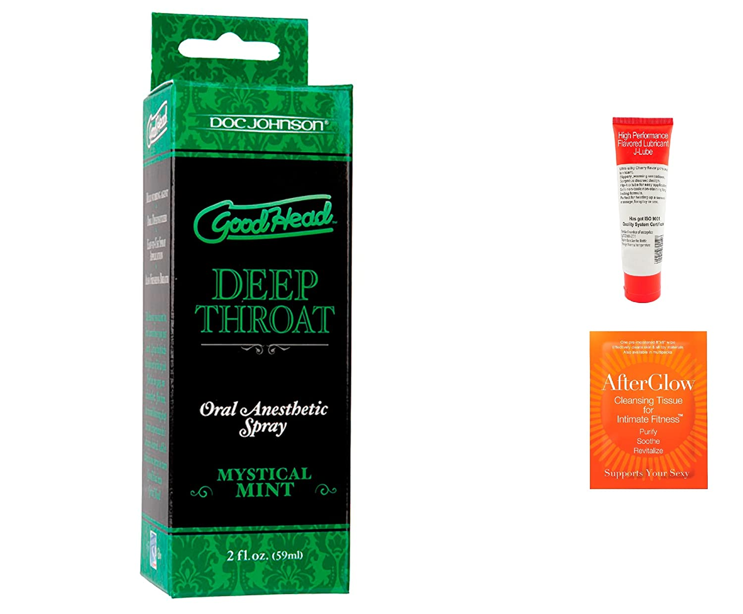 Amazon.com: Bundle-3 Items: Good Head Throat Spray - Mint, Toy Cleaner &  Lube: Health & Personal Care