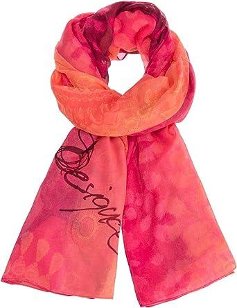 Unique Taille Fabricant: U Rose Bay 3065 Rouge Femme Desigual Foul/_Sunset Mandala Echarpe
