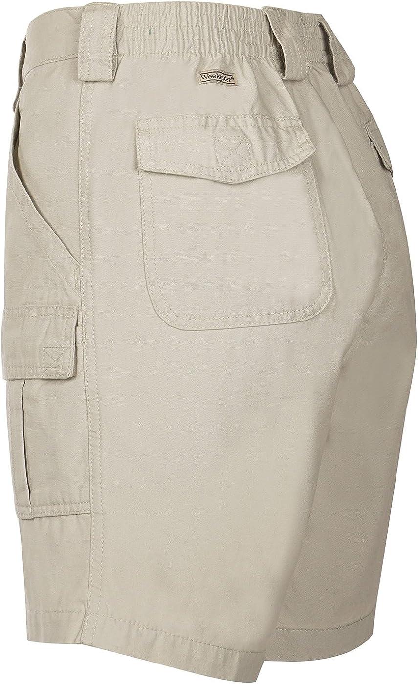 Weekender/® 6 Pocket Capitola Shorts KHAKI 46W
