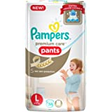 Pampers Premium Care Large Size Diaper Pants (58 Count)
