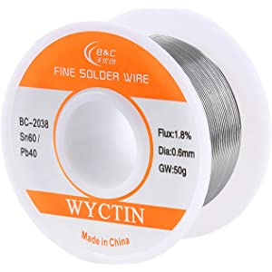 WYCTN 60/40 Solder Wire for Electrical