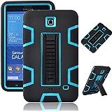 """Galaxy Tab 4 7.0"""" Case, Magicsky 3in1 Heavy Duty Hybrid Shockproof Armor Kickstand Case for Samsung Galaxy Tab 4 7.0…"""