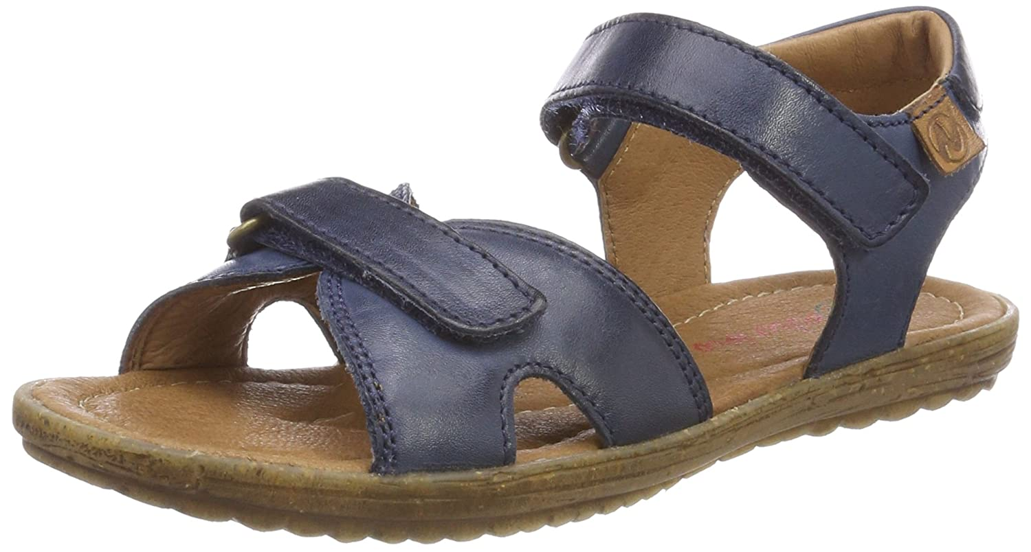 D Step Toddler K330-12A Genuine Leather Sandal D