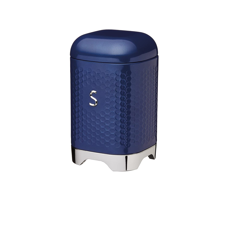 KitchenCraft talla /única Bote de almacenamiento color azul marino medianoche