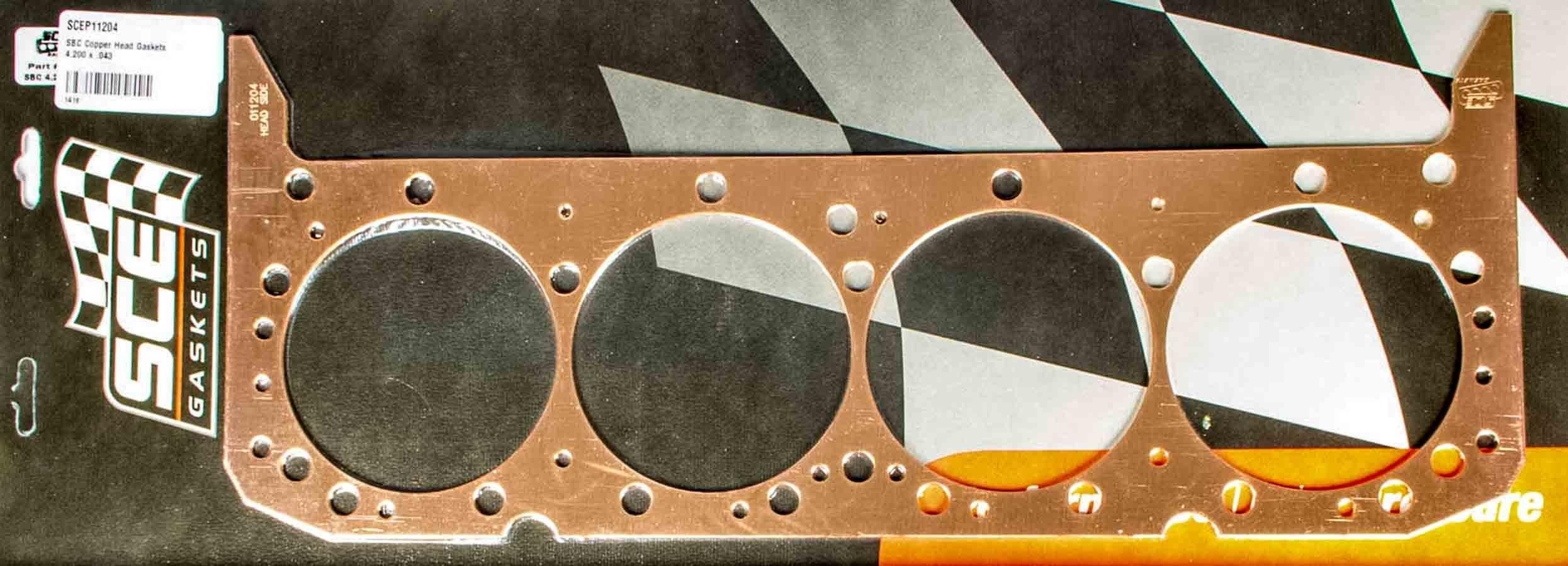 SBC Copper Head Gaskets 4.060 x .042