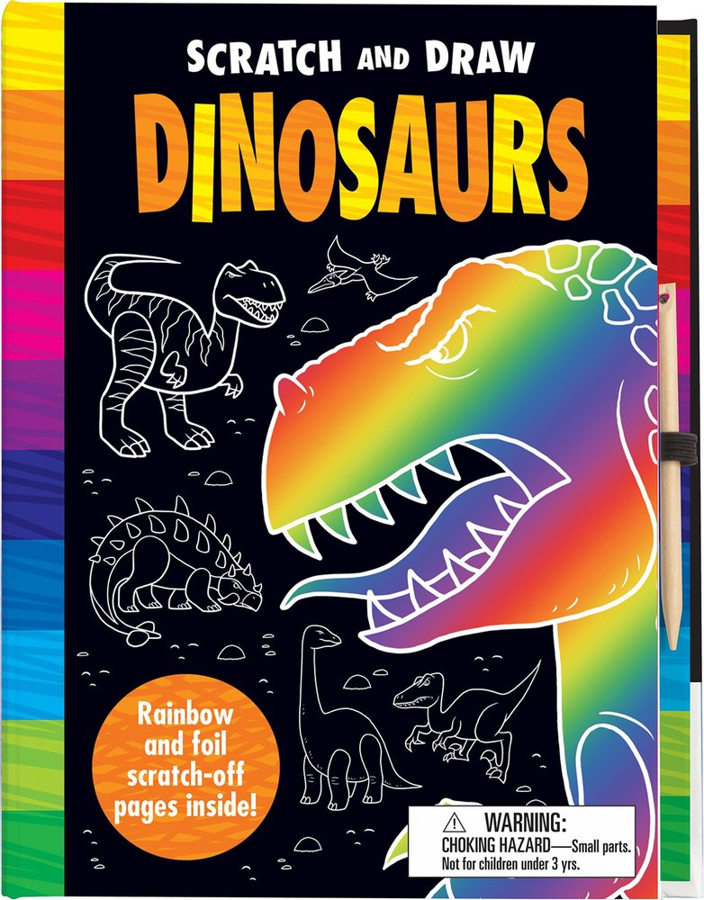 Scratch and Draw Dinosaurs ebook