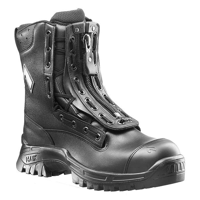 Haix - Botas Militares de cuero hombre, color, talla 8: Amazon.es: Zapatos y complementos