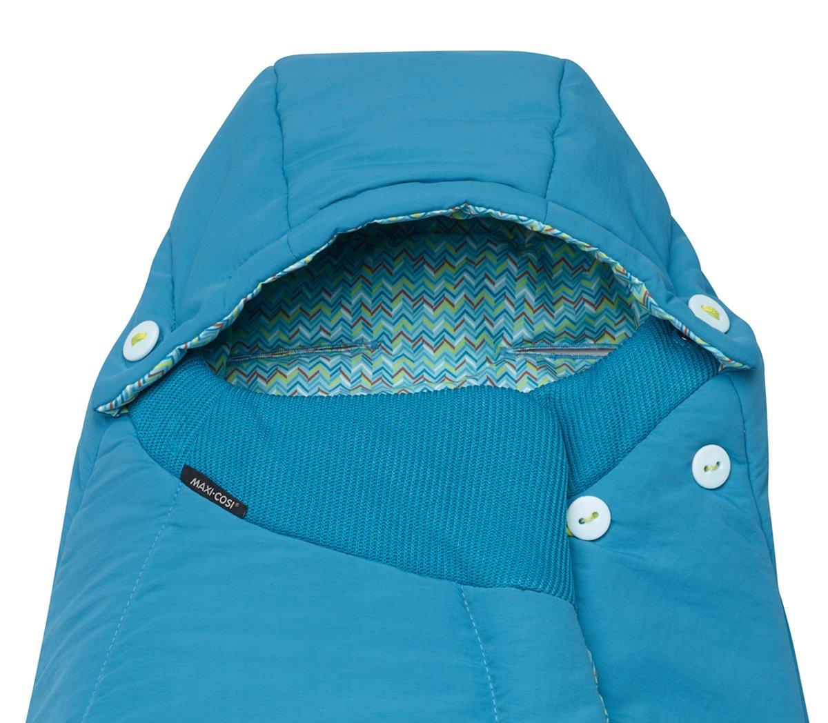 mosaic blue Maxi-Cosi Universal-Fu/ßsack passend f/ür alle Kinderwagen und Buggys