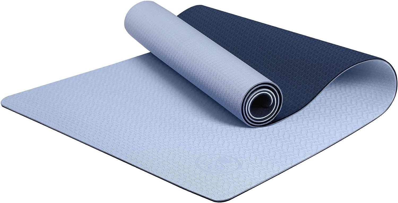 Amazon.com: Esterilla de yoga Iuga, superficie texturizada ...