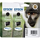 2 x cartouches Epson T0891 - noir