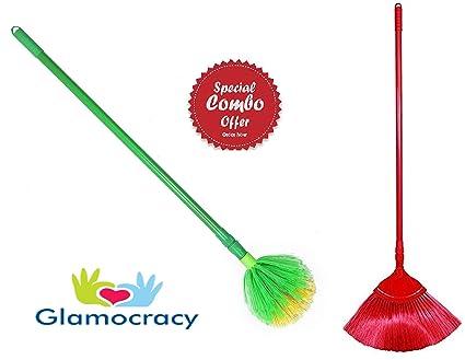 Glamocracy� Ceiling Jaala Cobweb Cleaning Broom (1.5 Meter), Color May Vary