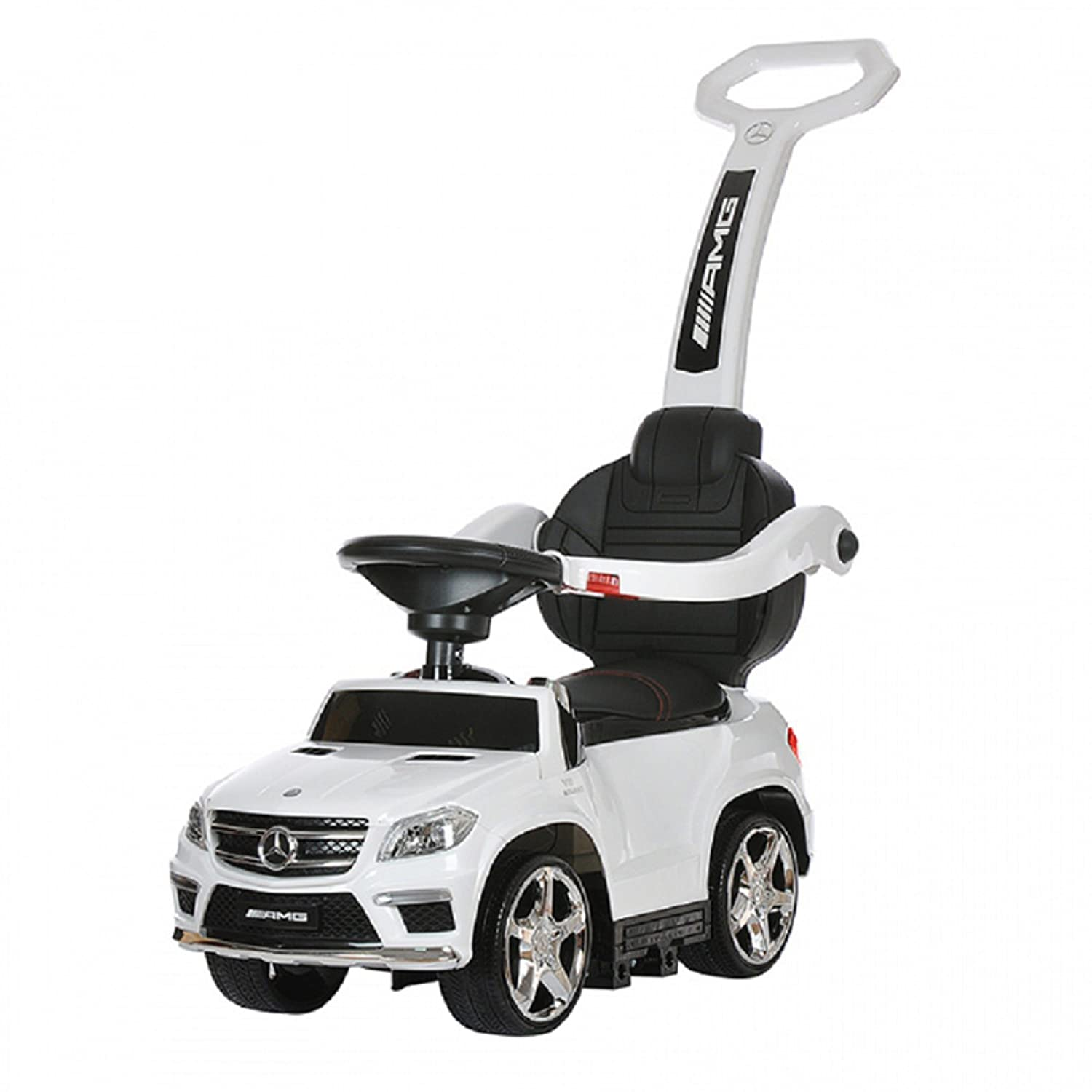 Best Ride On Cars 4 In 1 Mercedes Push Car White Toys Benz Product Games