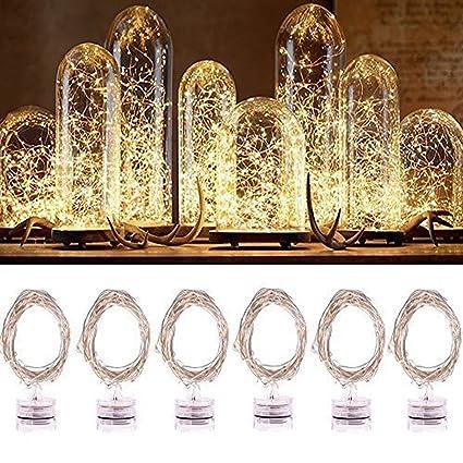 Amazon.com : LED String Lights, Jeasun Candle Indoor/Ourdoor Micro ...