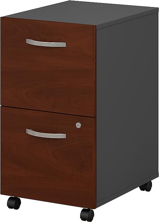 Amazon Com Series C 2 Drawer Mobile File Cabinet In Hansen Cherry