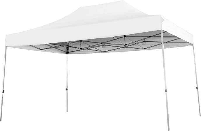 Amazon Com Phi Villa 10 X 15 Straight Leg Pop Up Canopy For Backyard Party Event 150 Sq Ft Of Shade Instant Folding Canopy White Garden Outdoor