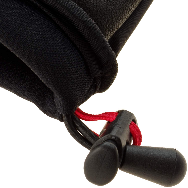 Glovii Akku Beheizte Fausthandschuhe, Thermoaktive Handschuhe Einem Mit Einem Handschuhe Finger, Farbe  Schwarz, Größen  S, M, L, XL (L) 754007