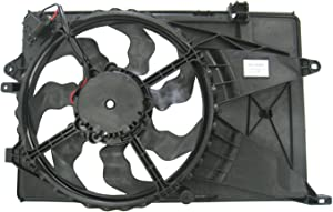 TYC 622900 Replacement Cooling Fan Assembly Compatible with Chevrolet Sonic