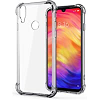 WOW Imagine Soft Jel Ultra Thin 0.3mm Full Protection Clear TPU Back Case Cover for Redmi Note 7 / Redmi Note 7 PRO (Transparent)