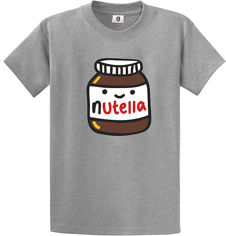 Original Inspired Nutella Smiling Jar Food Chocolate Lovers T-Shirt