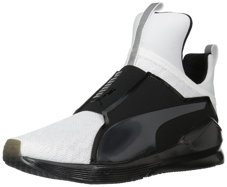 PUMA Women's Fierce Varsity Wn Sneaker B06XVZ5Q9L 7 B(M) US|Puma White-puma Black