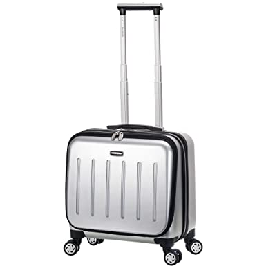 723ab8e43f65 Geometric Chevron Design Spinner Lightweight Expandable Carry On Luggage  Suitcase