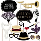 Roaring 20's - Twenties Photo Booth Props Kit - 20 Count