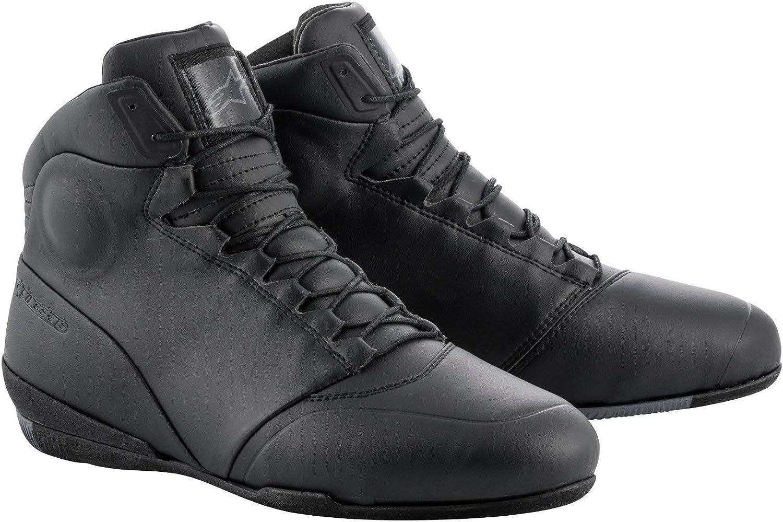 41 Alpinestars Mens 1 Boots black black//white 8.5