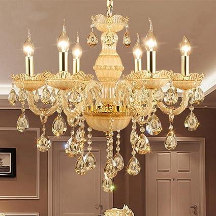 GMM® Lampadari da salotto Lampadario di cristallo europeo Lampada da ...
