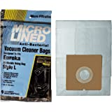 (9 Pack) Eureka Style L Micro-Lined Vacuum Bags To Fit Mini Mite Canister Bags