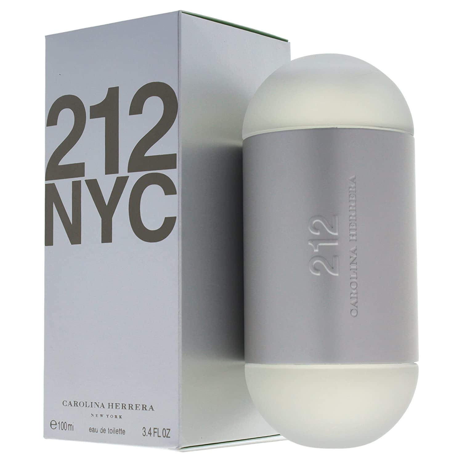 Amazon.com : Carolina Herrera 212 Perfume for Women 3.4 oz Eau De Toilette  Spray : Beauty