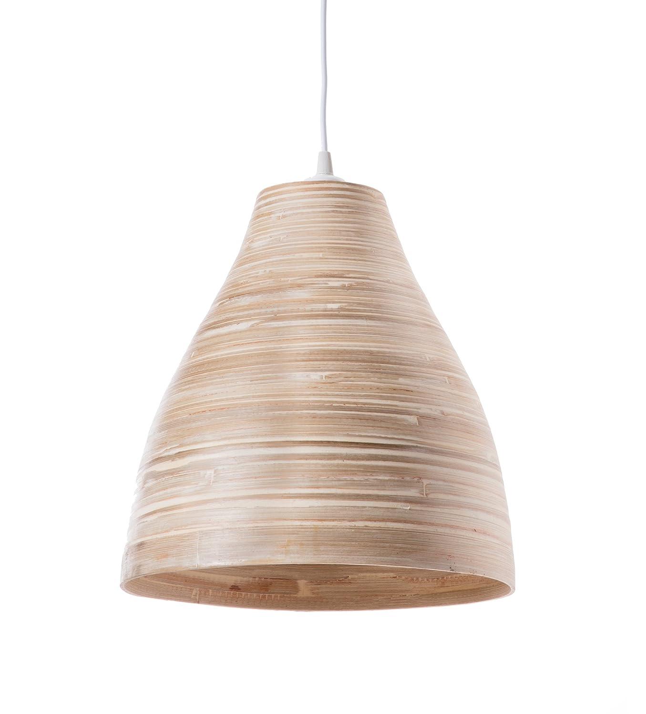 Lustre, Suspension Calcuta - bambou - bois naturel - ø 30 x H33 cm - E27 60W Suspension Calcuta - bambou - bois naturel - ø30 x H33 cm - E27 60W Lussiol