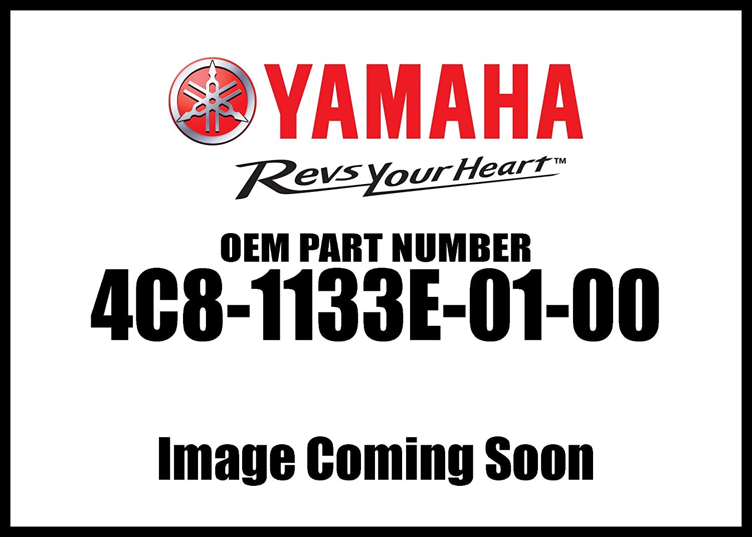 New Yamaha OEM 4C8-1133E-01-00 CABLE PULLEY 1 4C81133E0100