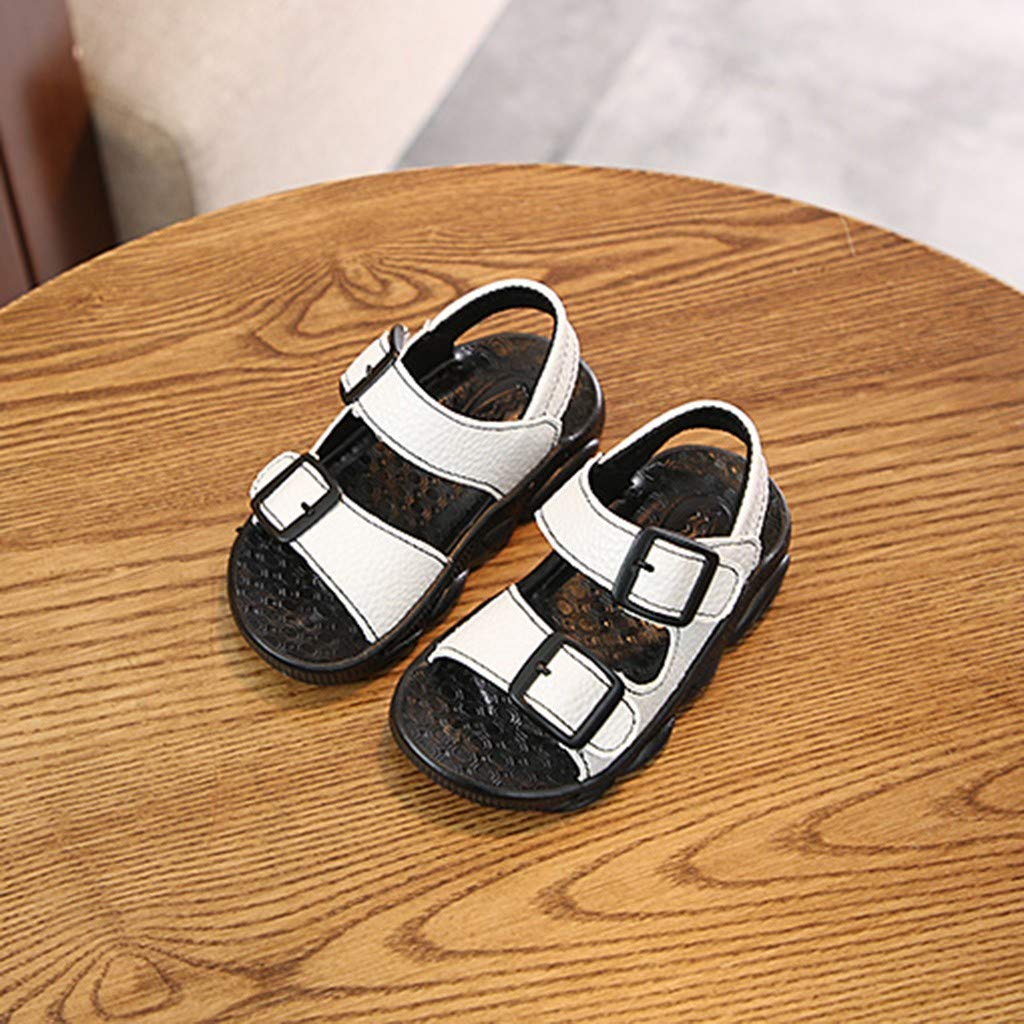 Suma-ma Babys Soft Bottom Non-Slip Beach Sandals Kids Boys Girls Flat Casual Sport Sandals Shoes Sneakers