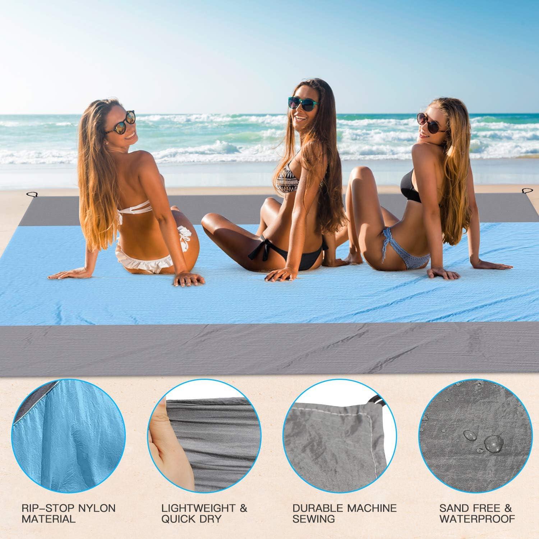 FYLINA Sandfree Beach Blanket Lightweight