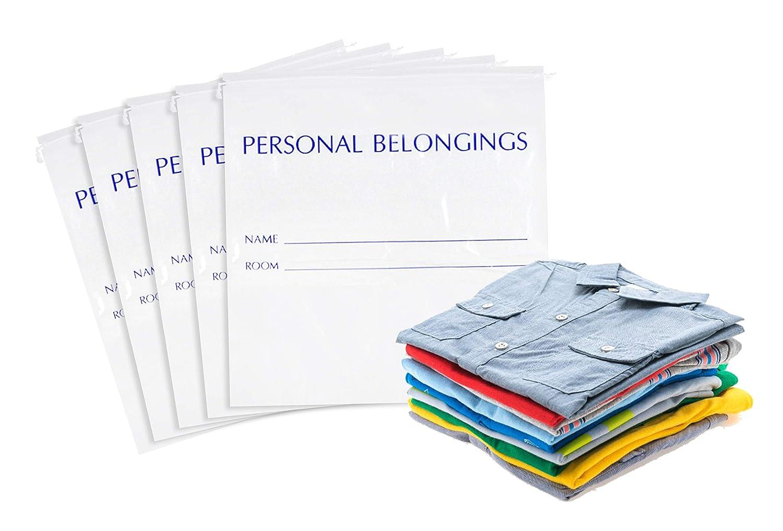 Amazon.com: APQ Pack de 50 Bolsas Personales, Blanco 25x26 ...
