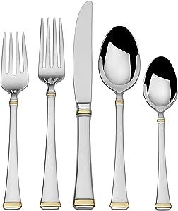 Mikasa Harmony 20-Piece Flatware Set, Silver