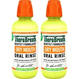 TheraBreath Dry Mouth Dentist Formulated Oral Rinse - Tingling Mint Flavor, 16 Ounce (Pack of 2)