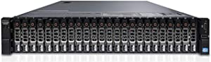 """Dell PowerEdge R730xd Server 24B SFF 2U, 2X Intel Xeon E5-2687 v3 2.5Ghz (24-cores Total), 256GB DDR4 RAM, 24x 2.5"""" HDD Trays, H730P 2GB 12Gb/s RAID, X540 DP NIC 10Gb + I350 1Gb, No OS (Renewed)"""