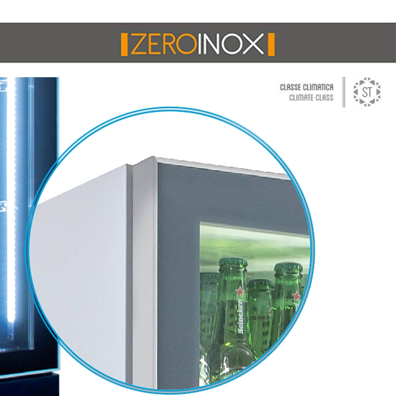 ZeroInox frigorífico Vitrina bibibibite Doble - Refrigeración ...