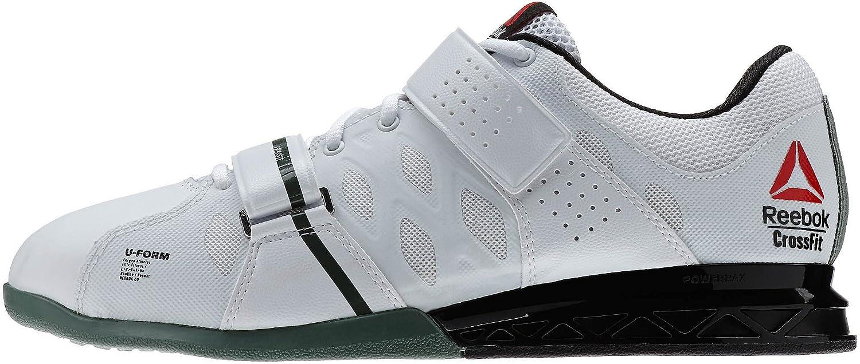 3ac9f4b96bb90 Zapatillas de running Reebok Crossfit Lifter Plus 2.0 para hombre Blanco- negro-verde