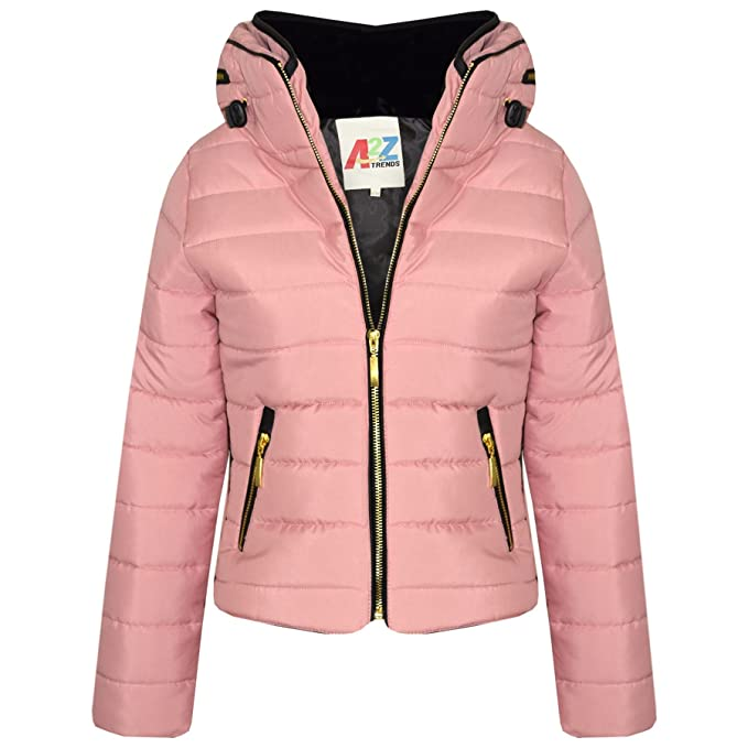 fbe670ab2b6c A2Z 4 Kids® Girls Jacket Kids Stylish Padded Puffer Bubble Faux Fur ...