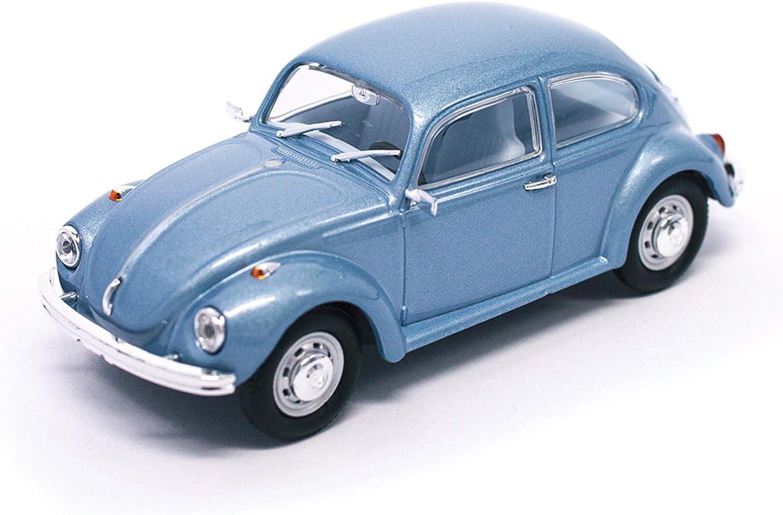 Road Signature 1972 Volkswagen Beetle Open Top Convertible Cream 1//43 Diecast Model Car