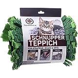 CanadianCat Company  | Filz Schnupperteppich - Schnüffelmatte für Katzen in Grasgrün