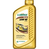 Oleo Para Motor Lubrax Tecno Api Sn 10w40 Semissintético 1 litro