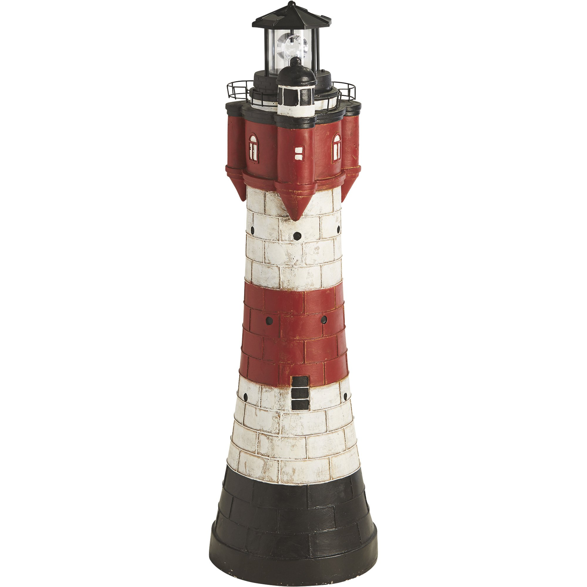 Solar Lighthouse Lawn and Garden Decor - 43in.H by Kotula's