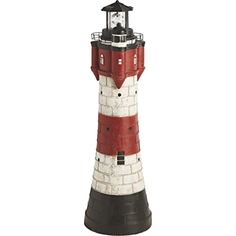 Superbe Solar Lighthouse Lawn And Garden Decor U2014 43in.H