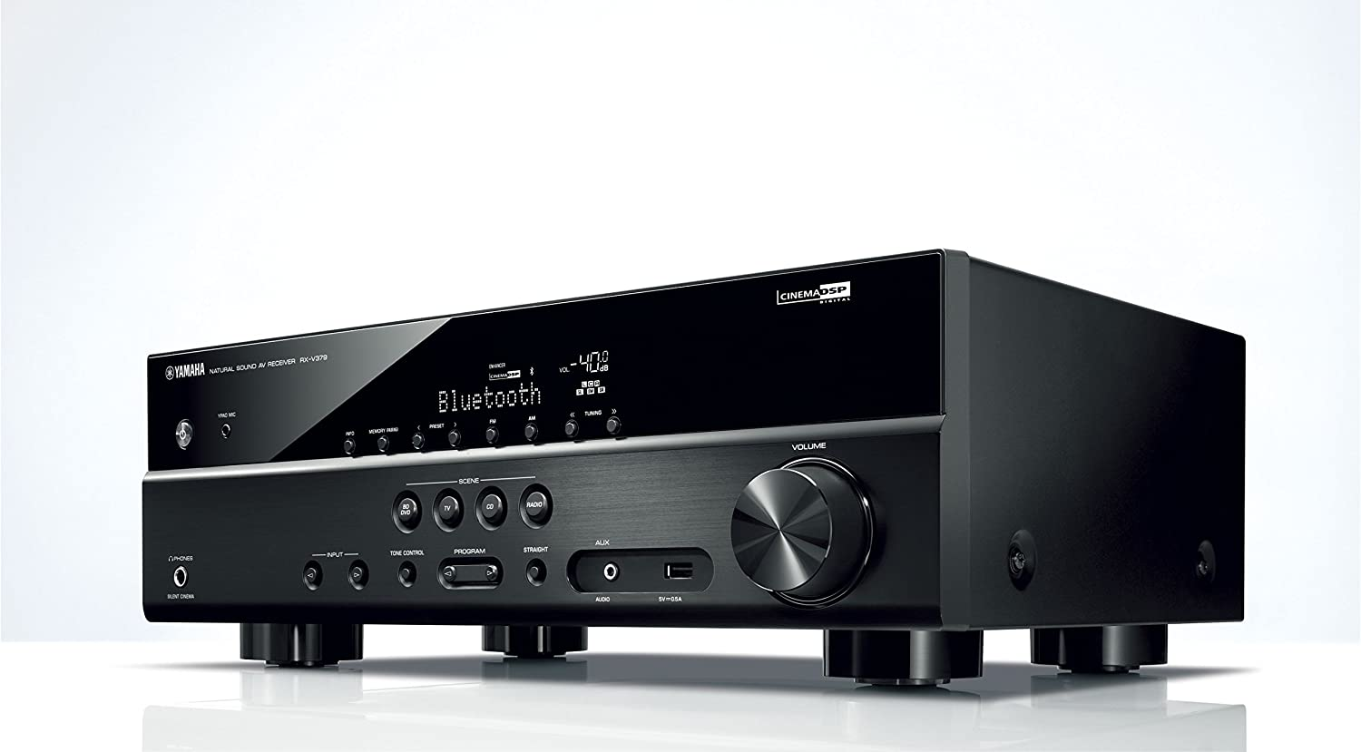Amazon.com: YAMAHA RX-V379 5.1 channels amplifier AV receiver: Home Audio & Theater