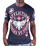 Affliction Men's George Staint Pierre Seal T-Shirt